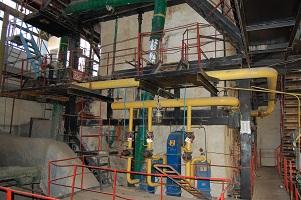 На Камышовской котельной ведется капитальный ремонт котла