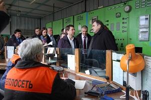 Замминистра строительства и ЖКХ России одобрил программу модернизации котельной Рыбаков,1