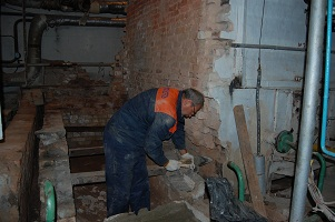 Капремонт котла на котельной по ул. Героев Севастополя,21