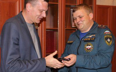 МЧС наградило сотрудников «Севтеплоэнерго» за участие в ликвидации последствий ЧС