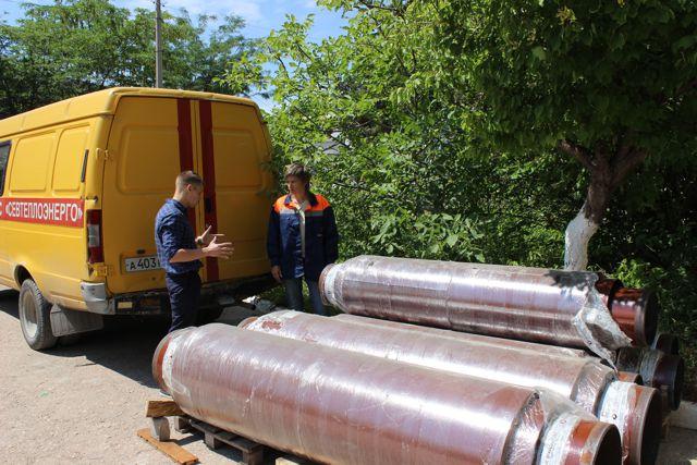«Севтеплоэнерго» реализует проект по установке сильфонных компенсаторов на тепловых сетях