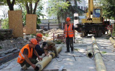 «Севтеплоэнерго» ведет масштабные ремонтные работы на Матросском бульваре