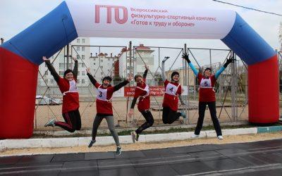 Команда «Севтеплоэнерго» заняла второе место в фестивале ГТО