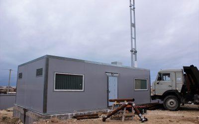 Завершается строительство новой котельной на Мекензиевых горах