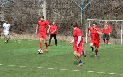 Первая игра сборной команды «Севтеплоэнерго» по мини-футболу закончилась для неё победой