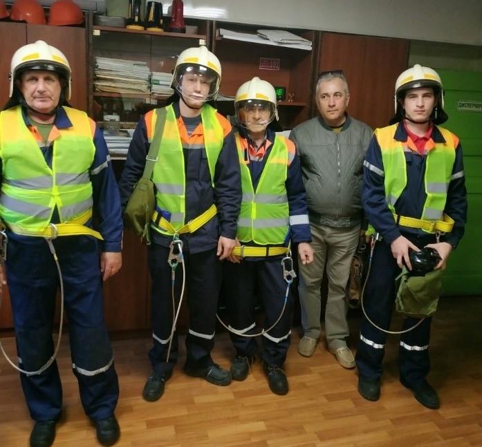 Сотрудники «Севтеплоэнерго» приняли участие в учениях по ликвидации последствий взрыва бытового газа