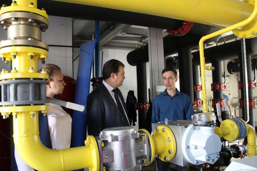Руководитель департамента городского хозяйства г.Севастополя проконтролировал ход реконструкции ряда объектов теплоснабжения в Гагаринском районе