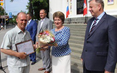 Электрогазосварщик ГУПС «Севтеплоэнерго» занесен на городскую Доску почёта