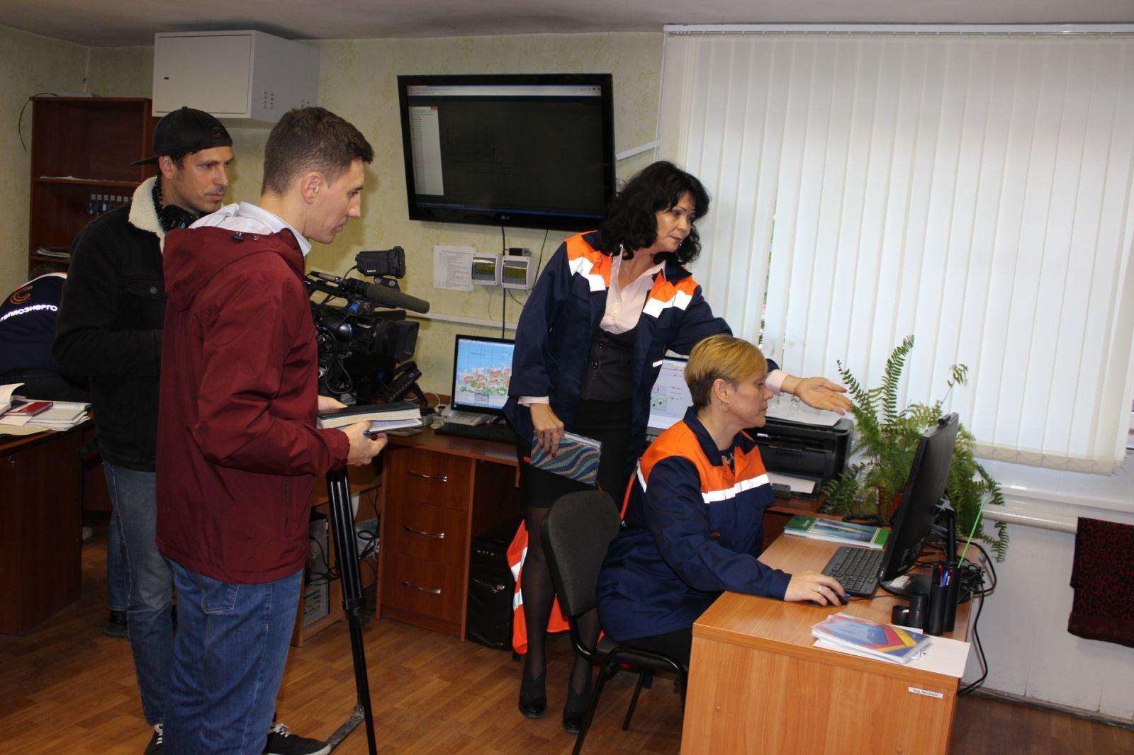В «Севтеплоэнерго» рассказали журналистам о ходе реализации проекта по диспетчеризации ЦТП