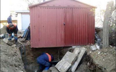 «Севтеплоэнерго» через суд добилось переноса гаража с теплотрассы