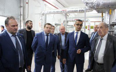 Члены Общественной палаты Российской Федерации посетили объекты «Севтеплоэнерго»
