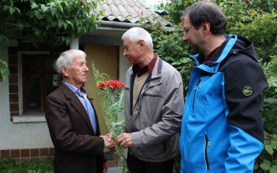 Сотрудники «Севтеплоэнерго» поздравили ветеранов с Днём Победы