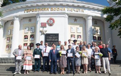 Работник «Севтеплоэнерго» Александр Кравец занесён на городскую Доску почёта