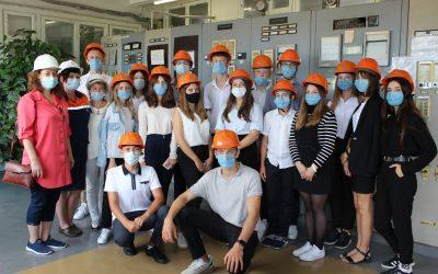 Севастопольские школьники посетили одну из котельных ГУПС «Севтеплоэнерго»