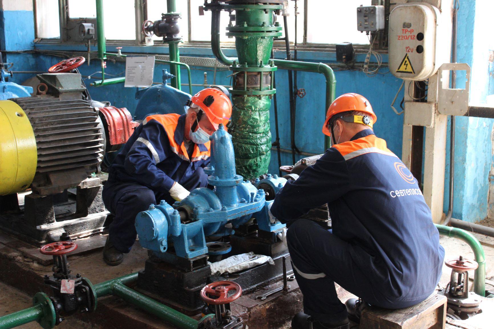 """Специалисты """"Севтеплоэнерго"""" проведут капитальный ремонт оборудования на 13 котельных"""