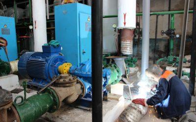 4-й энергорайон ГУПС «Севтеплоэнерго» готов к отопительному сезону на 85%