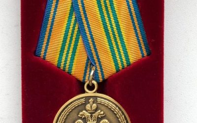 Управление МЧС России по городу Севастополю  наградило руководство «Севтеплоэнерго» памятной медалью «85 лет Гражданской обороне»