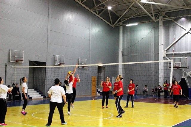 Женская сборная «Севтеплоэнерго» по волейболу заняла третье место