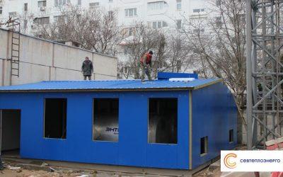 Севтеплоэнерго в микрорайоне Шевченко  ЦТП переводит в квартальные котельные