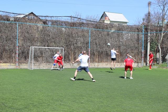 Команда «Севтеплоэнерго» по мини-футболу обыграла команду Департамента сельского хозяйства со счетом 14:4