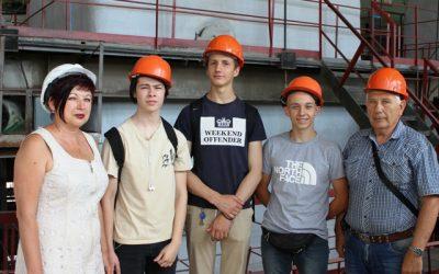 Студенты судостроительного  колледжа № 3 побывали на одной из крупных котельных «Севтеплоэнерго»